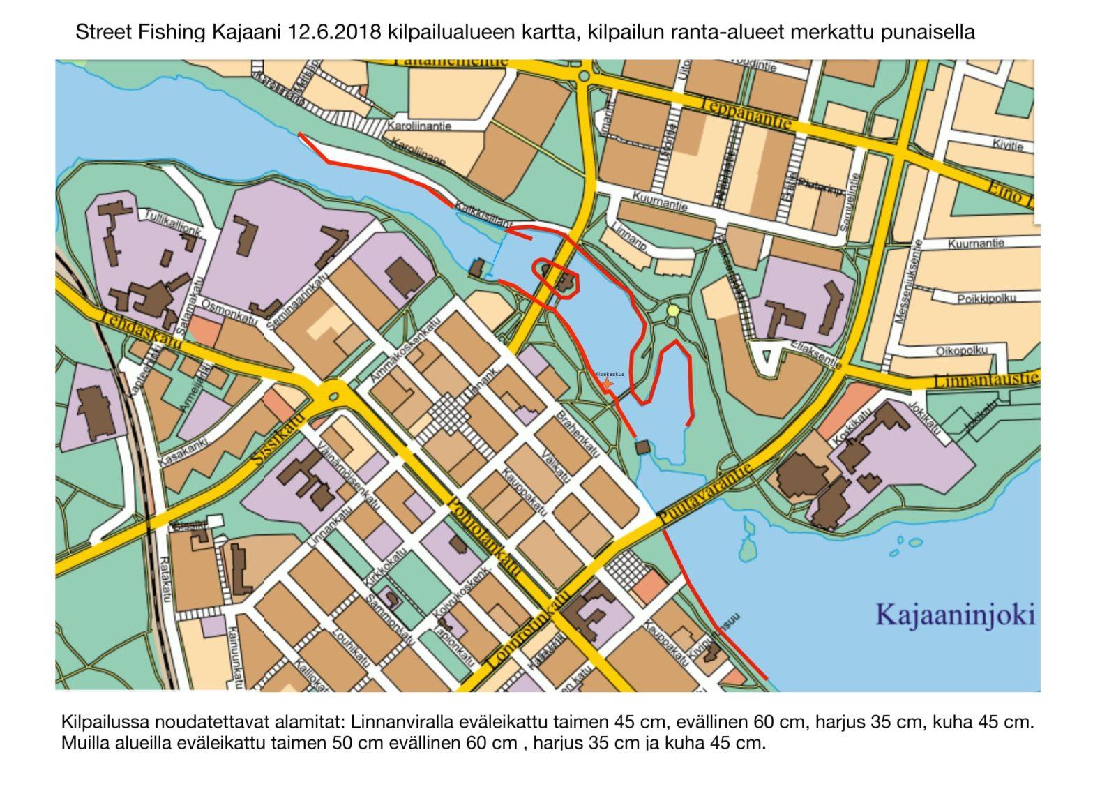 Street Fishing Kajaani 12 06 2018 Fisuun Fi