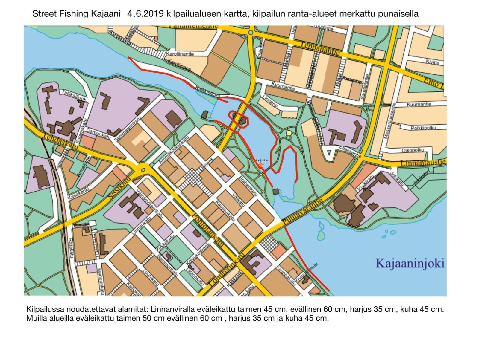 Street Fishing Kajaani 04 06 2019 Fisuun Fi