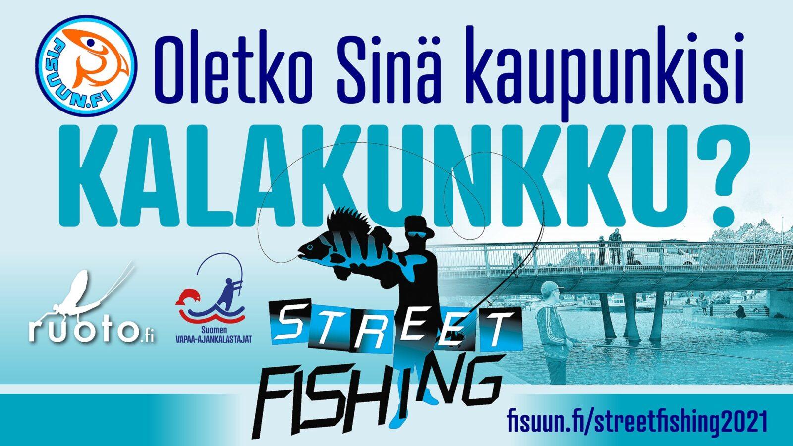 Street Fishing, Jyväskylä, 07.09.2021