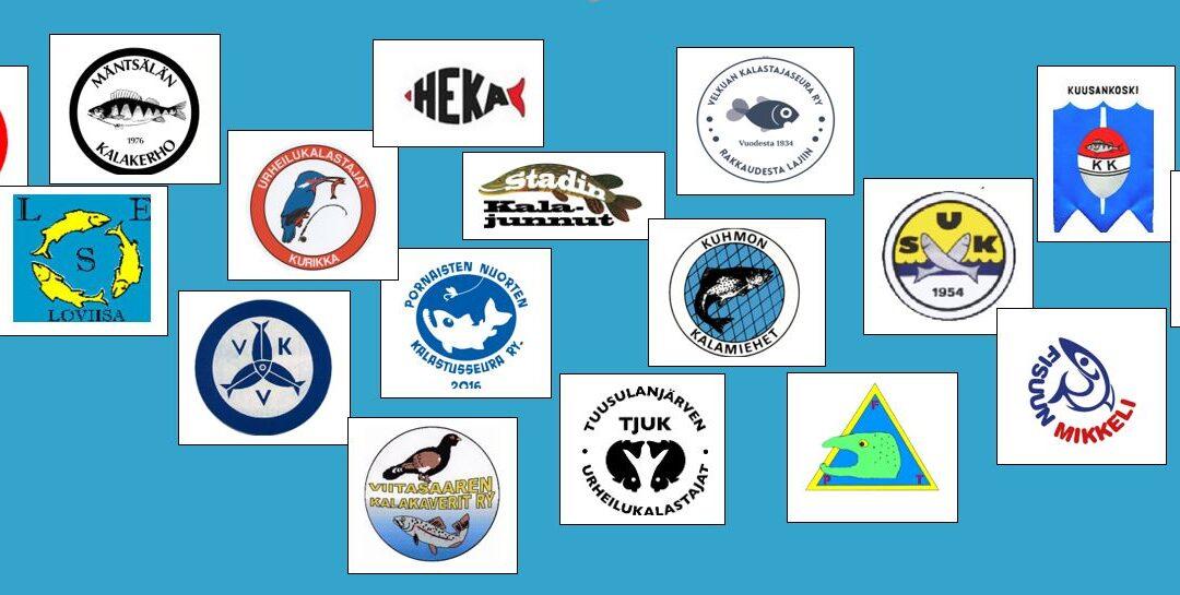 Nuorisotoimintaa järjestäviä kalastusseuroja